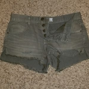 Free People High-Waisted Shorts